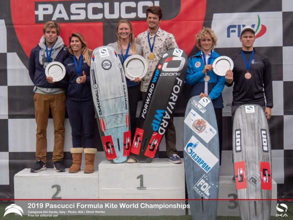 Reigning Champions Successfully Defend Crowns at Formula Kite Worlds in Italy