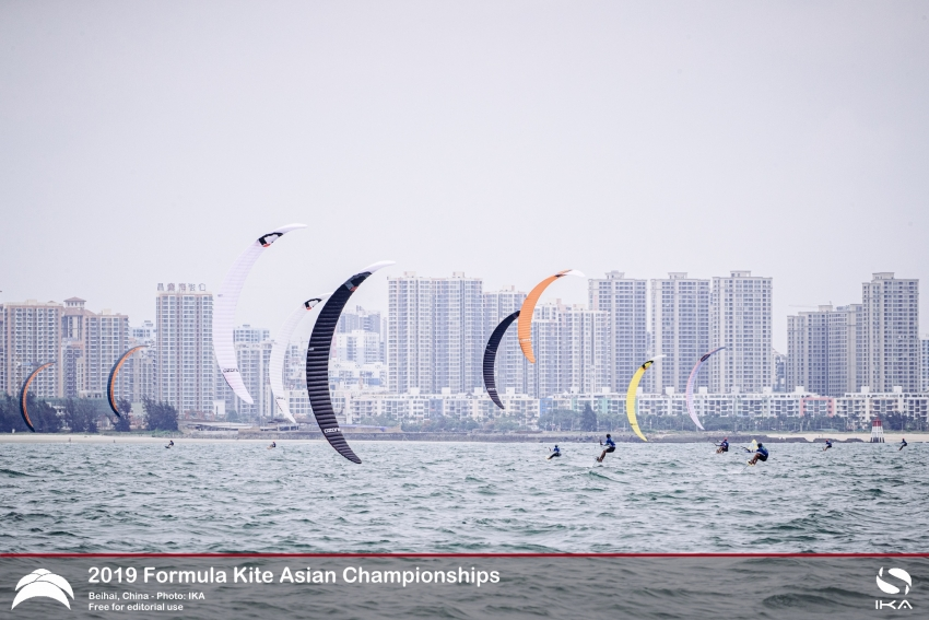 Chen Thrills Home Fans with Near Flawless Outing at Formula Kite Asians in China
