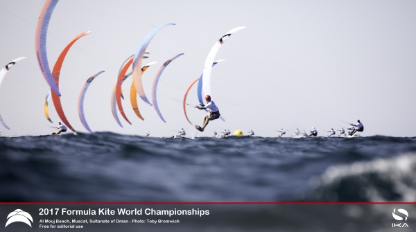 Intense clashes as racers push for Medal Series at Oman Formula Kite World Championships