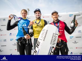 Parlier crowned Sailing World Cup Series Champion in the Foiling Formula Kite Class