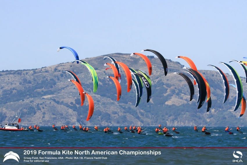 Landauer takes North Americans at Crissy Field