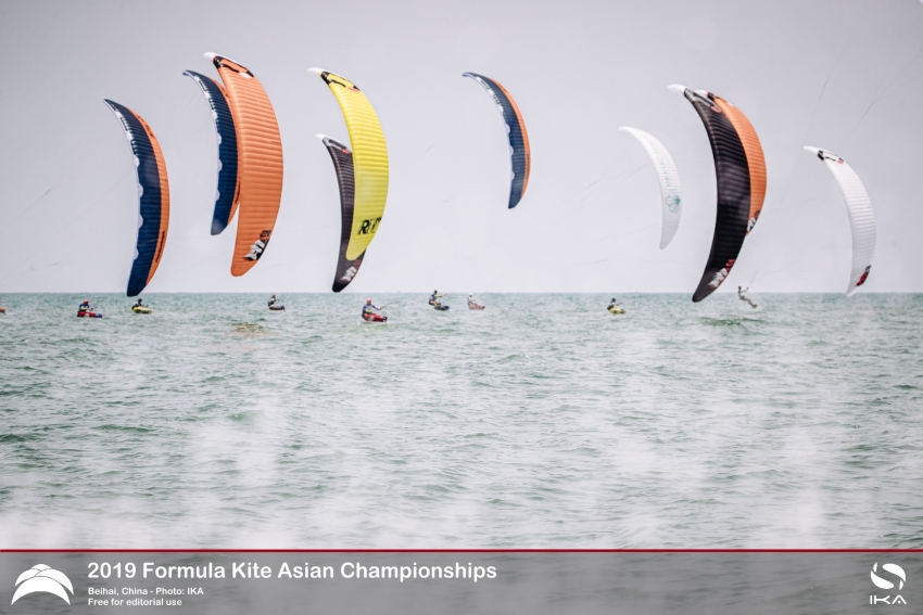 KiteFoil Athletes Grapple with Fresh Challenges of Mixed Team Racing