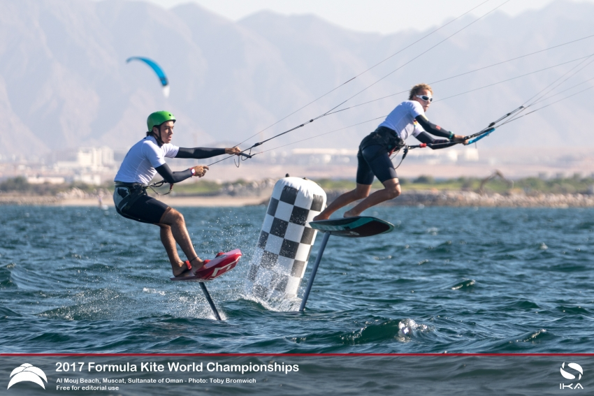 Tight racing at Formula Kite World Championships Oman as France's Nico Parlier asserts dominance