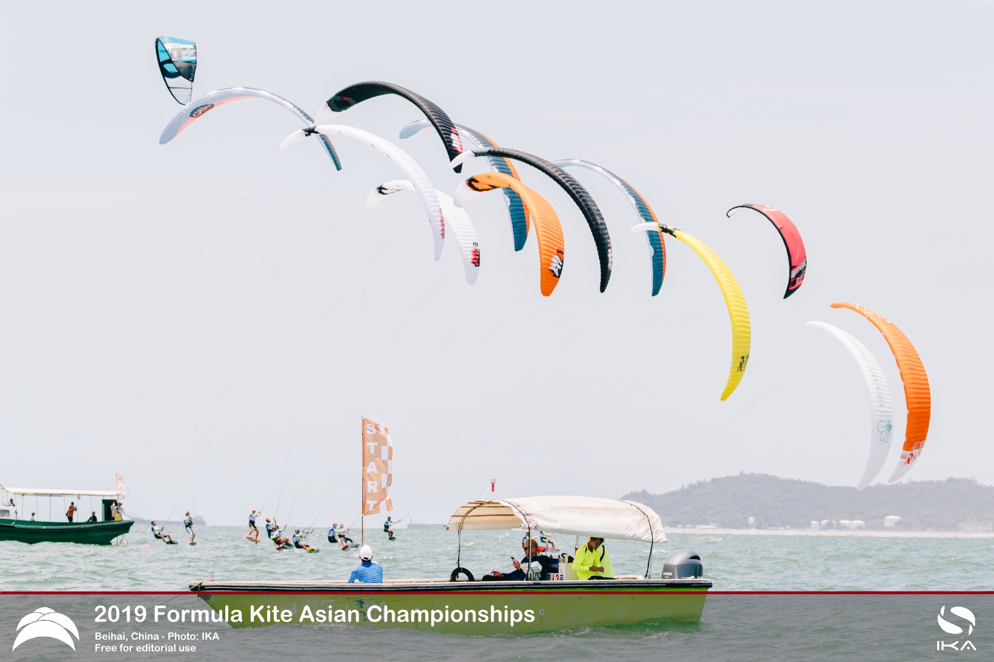 Drama at Formula Kite Asians as Leading Women Demoted for Errors