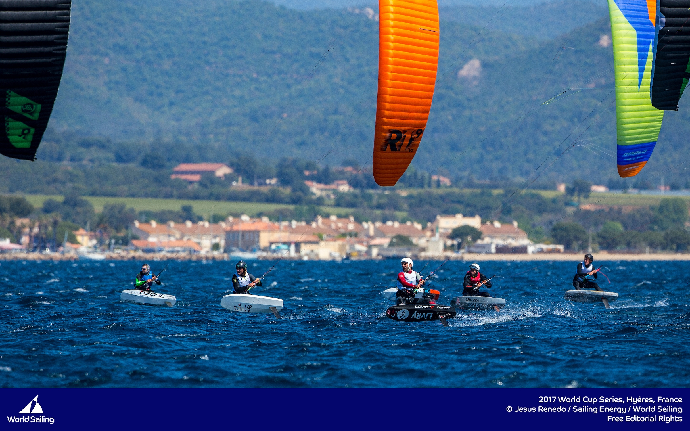 Parlier proves to be un-beatable in strong breeze at Sailing World Cup Hyeres