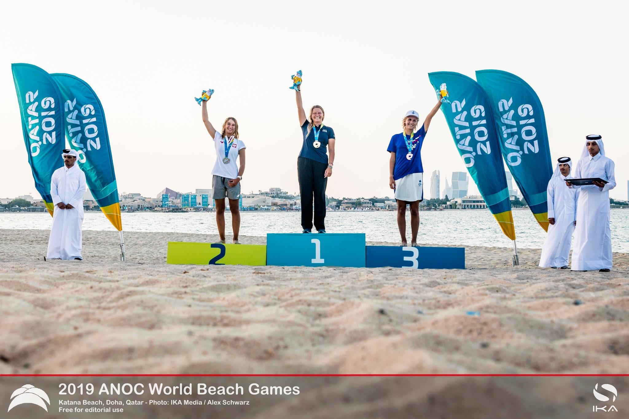 World Champion Daniela Moroz Sails to Gold