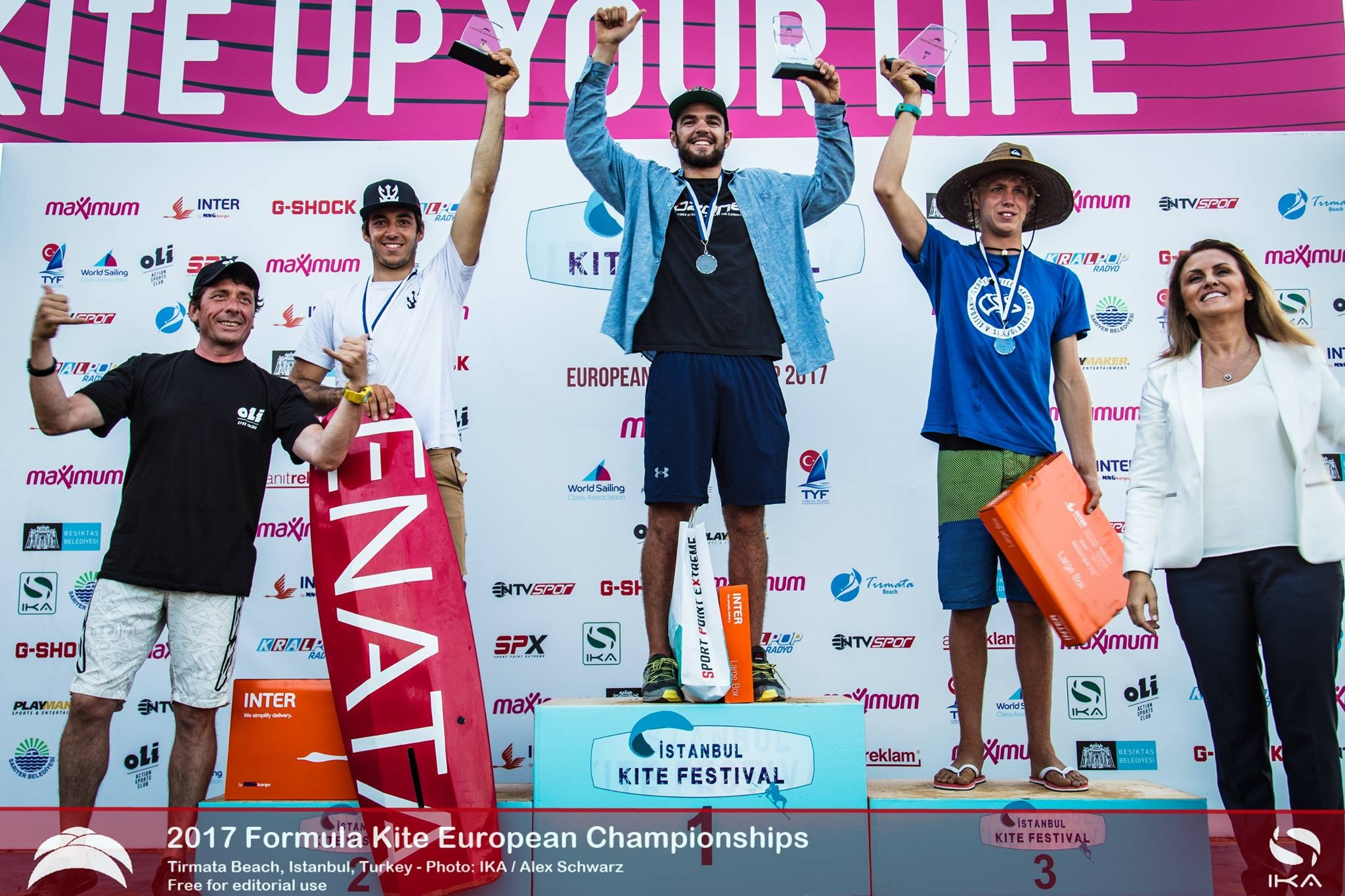 Parlier and Moroz crowned 2017 Formula Kite European Champions after a week of racing in challenging conditions