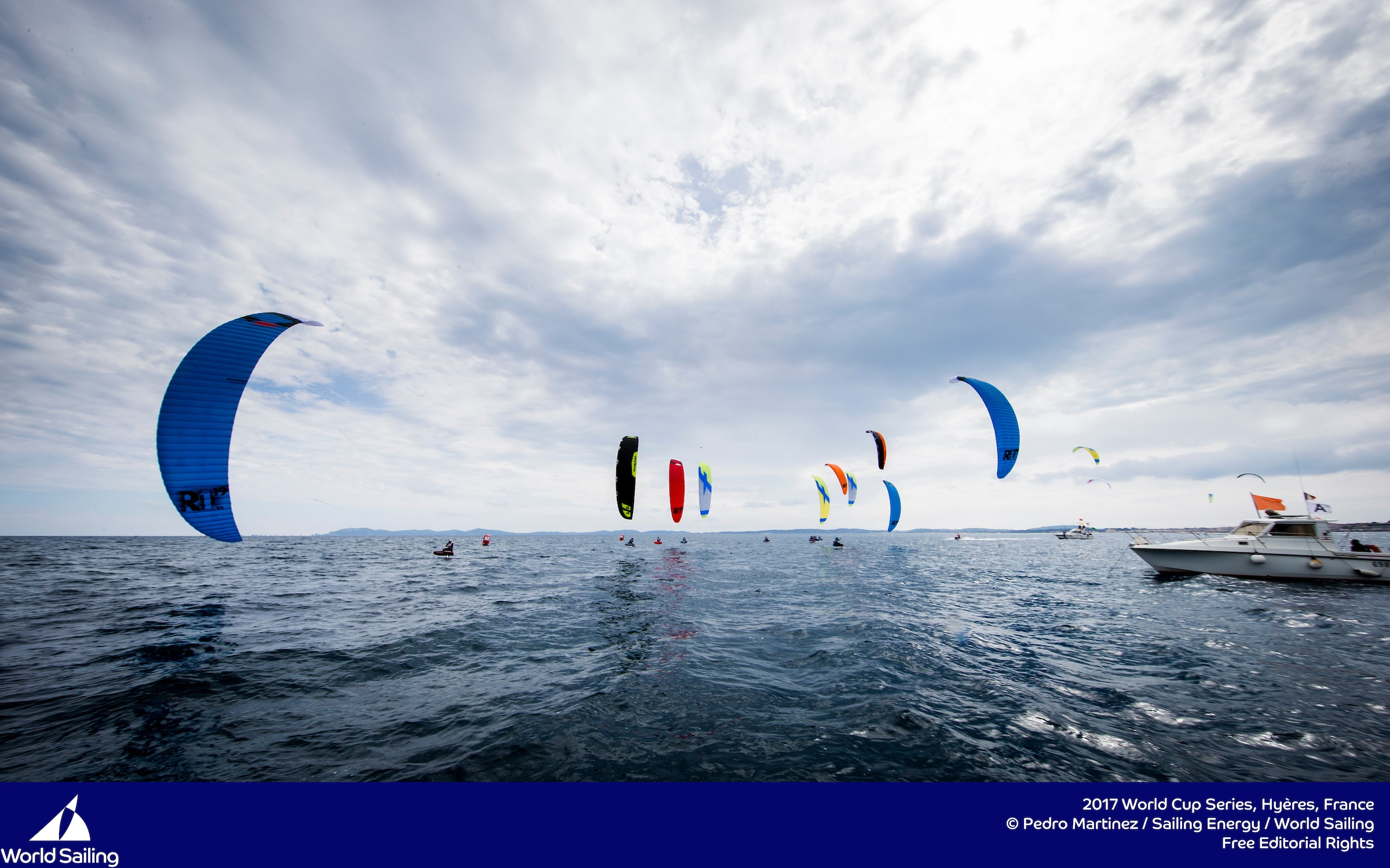 Parlier and Mazella top the leader board after day one at Sailing World Cup Hyeres