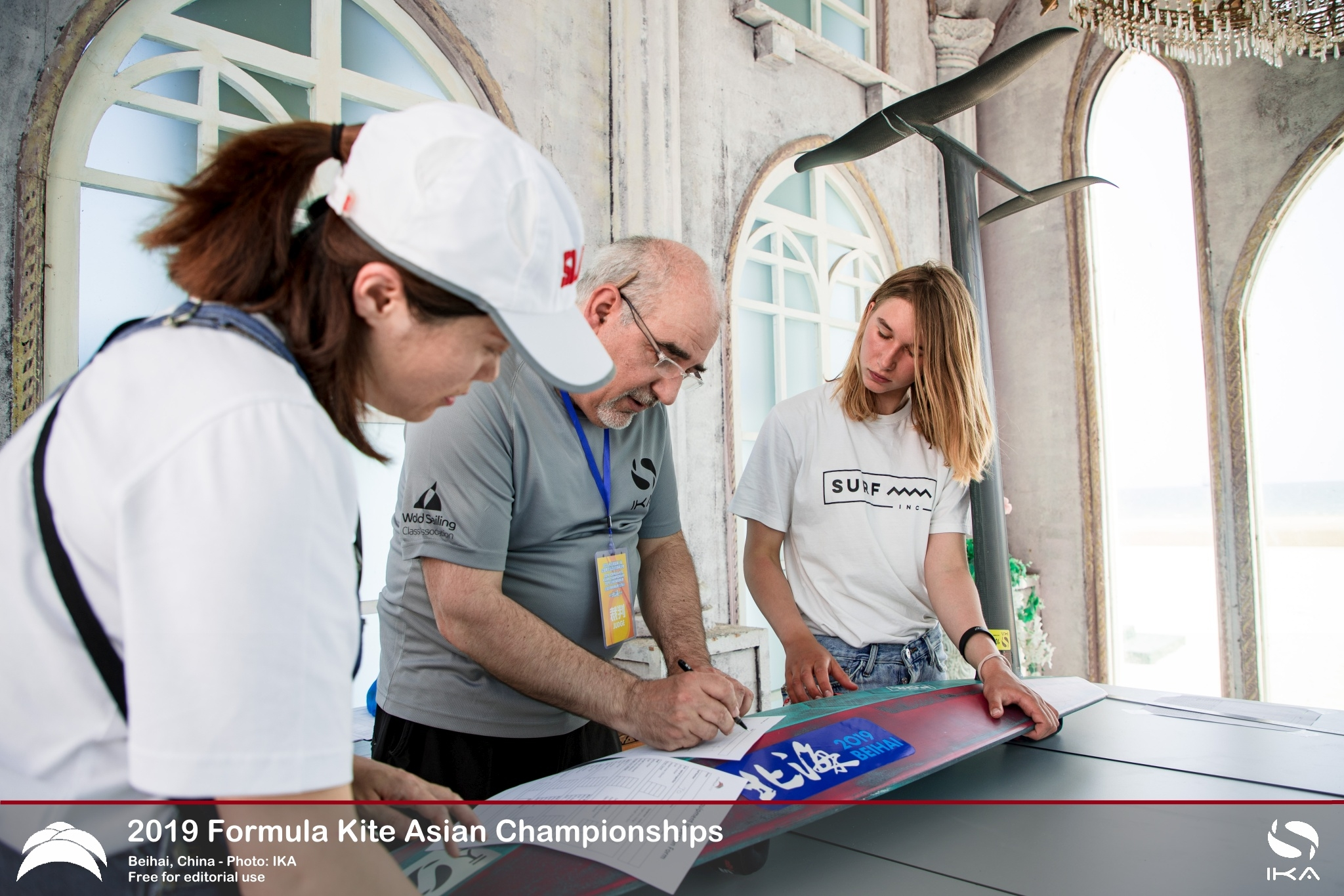 Formula Kite Equipment Registration for the Paris 2024 Olympic Quadrennium opens